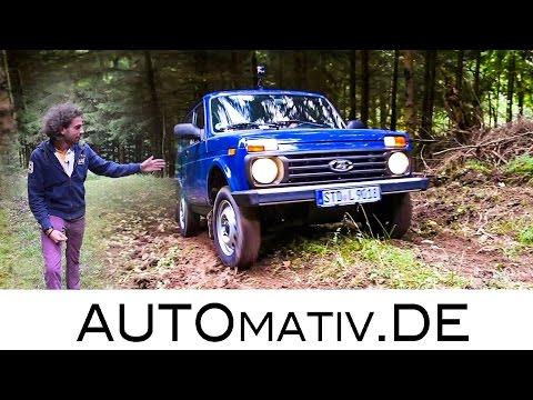 2016 Lada 4x4 (ehemals Niva, Taiga) Offroad im Elsass