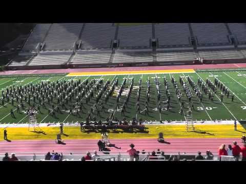 Dobyns-Bennett High School Marching Indian Band Kingsport 2011 Appalachian State Exhibition Part 1