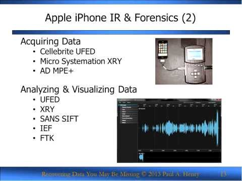 SANS Webcast - Mobile Forensics: Recovering Data You May Be Missing