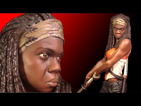 Gentle Giant Michonne 1/4 Scale Statue Review