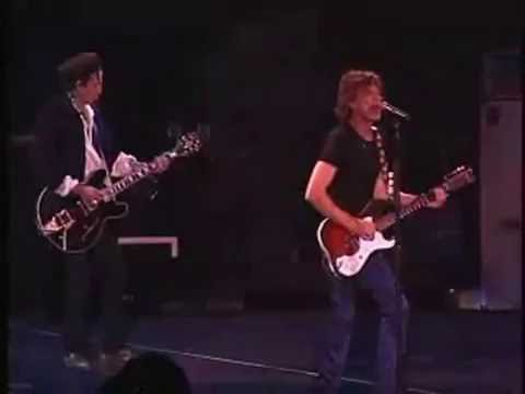 ROLLING STONES - BACK OF MY HAND ( live) Bigger Bang Opening Night 2005