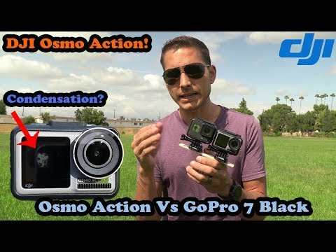 DJI Osmo Action: Condensation Already? Head To Head With GoPro 7 Black