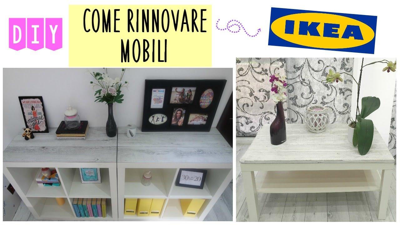 Diy Ikea Hack Come Ho Trasformato I Miei Mobili Shabby Style