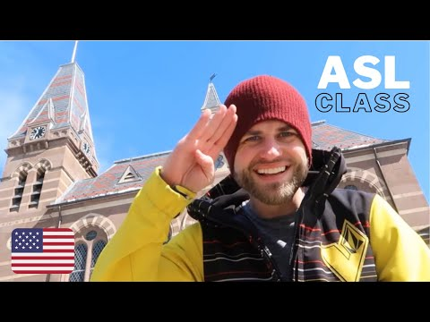 Learn American Sign Language Online with Johnny! (ASL)