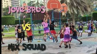 Elektra park basketball league Abu dhabi Season 5 Jove Bros vs Mix squad