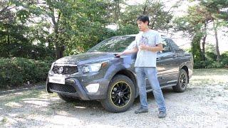 쌍용자동차 코란도스포츠2.2 4WD 시승기 (Korando Sports 2.2 4WD) | 모터피디 motorpd