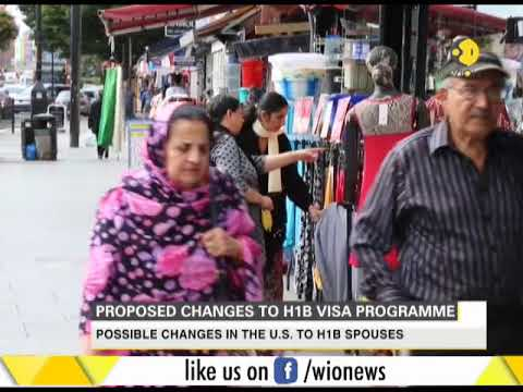 Spouses of H1B visa holders may not be able to work
