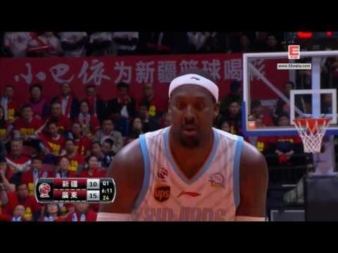 CBA Playoff Final Game 1 Xingjiang VS Guangdong 3/31