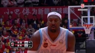 CBA Playoff Final Game 1 Xingjiang VS Guangdong 3/31