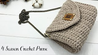 4 Season Crochet Purse ( Free Pattern )