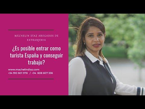 ¿Es posible entrar como turista España y conseguir trabajo?