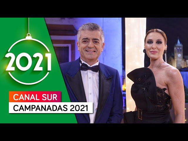 Campanadas Canal Sur 2021 con Eva Ruiz, Modesto Barragán, el colectivo sanitario y los mayores