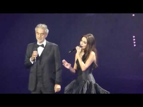 Andrea Bocelli & Zara - La Grande Storia/ Moscow, 24.11.2016