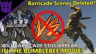 Barricade Not In The Movie Anymore? Where Is Barricade? - Transformers bumblebee(2018)