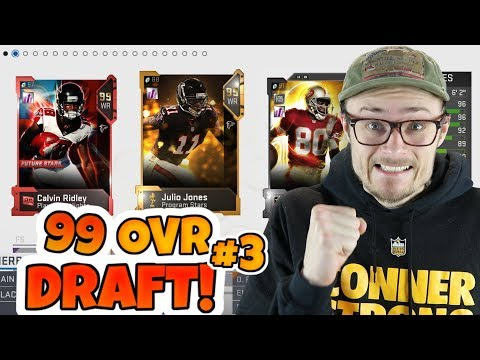 THE CRAZIEST 99 OVERALL DRAFT SUPERBOWL GAME!! (part 3)