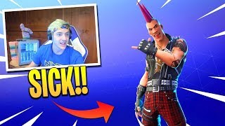 RIOT SKIN OUT NOW! | FORTNITE ITEM SHOP TODAY! | FORTNITE MALE POWERCHORD SKIN (28/11/2018)