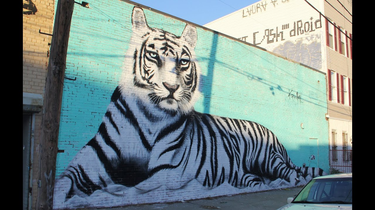 Brooklyn Street Art 2014 Bushwick Collective Graffiti Vexta Buff