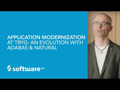 Application modernization at Tryg: An evolution with Adabas & Natural