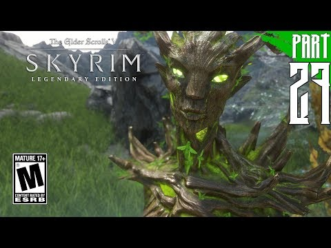【SKYRIM 200+ MODS】Wood Elf Gameplay Walkthrough Part 27 [PC - HD]