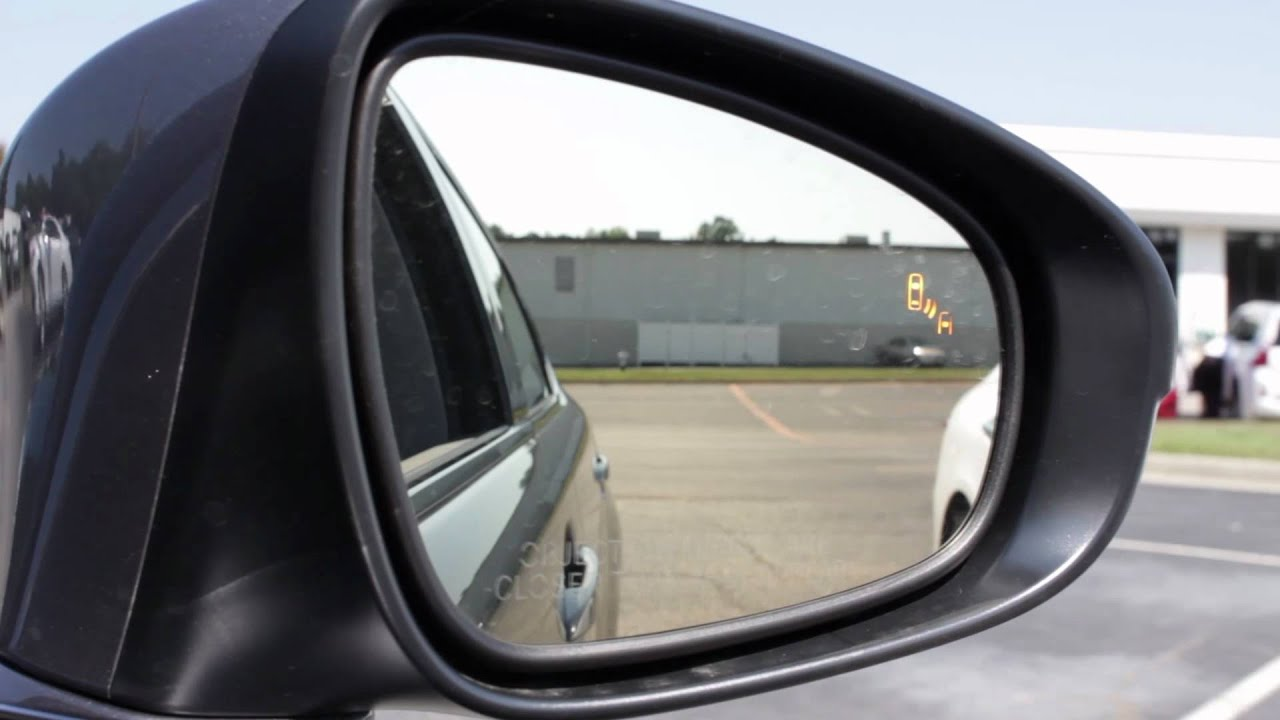 Tech Tip 2013 Lexus Es Blind Spot Monitor System Youtube