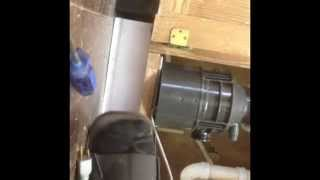 How To Install Garbage Disposal (replacing Sink Strainer/drain)