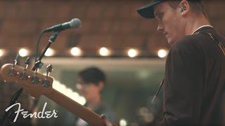 "Joywave Perform ""Traveling At The Speed Of Light"" | Fender"