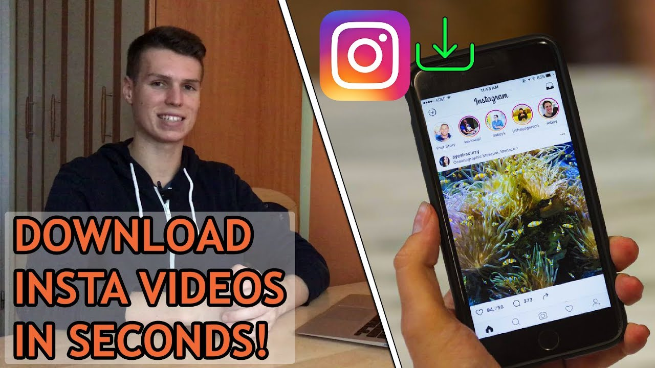How to DOWNLOAD Instagram Videos on iPhone without APP!