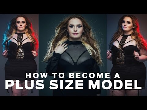 How To Become A Plus Size Model | Hayley Herms