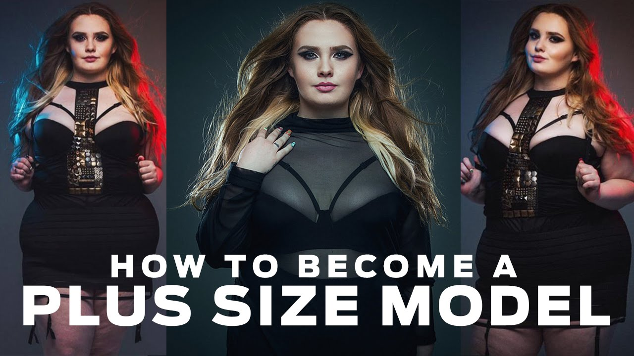 how to become a plus size model in canada