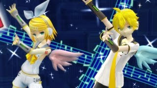 [MMD] Electric Angel feat. V4X Rin and Len + English Lyrics