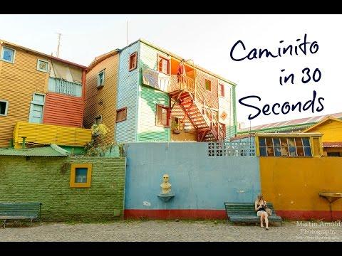 Caminito La Boca  in 30 seconds by Britannika   ParisRio Travel Channel