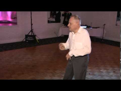 WEDDING GUEST DOES THE CURLY SHUFFLE, HILLARIOUS!!!