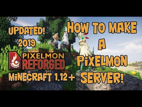 How To Make A Pixelmon Server Minecraft 1.12+ Updated July 2019