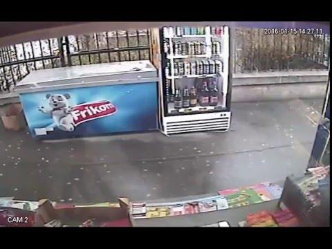 Pokusaj pljacke trafike u ul. Nikolaja Ostrovskog - Zemun - 15.01.2016