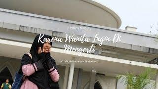 Gambar cover Ada Band - Karena Wanita Ingin Di Mengerti (Lyrics Video)