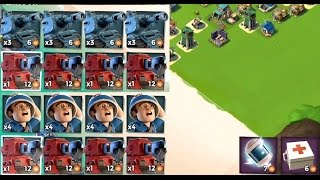 SCORCHER VS SNIPER TOWER | Boom Beach | MEDIC AND TANK