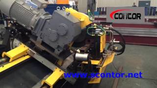 Contor Cold Saw cutting steel pipe