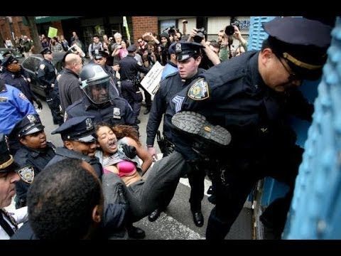 Occupy Protester Convicted For Elbowing A Cop