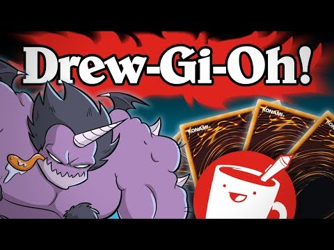 Artists Try Drawing Yu-Gi-Oh! Cards (That They've Never Seen)
