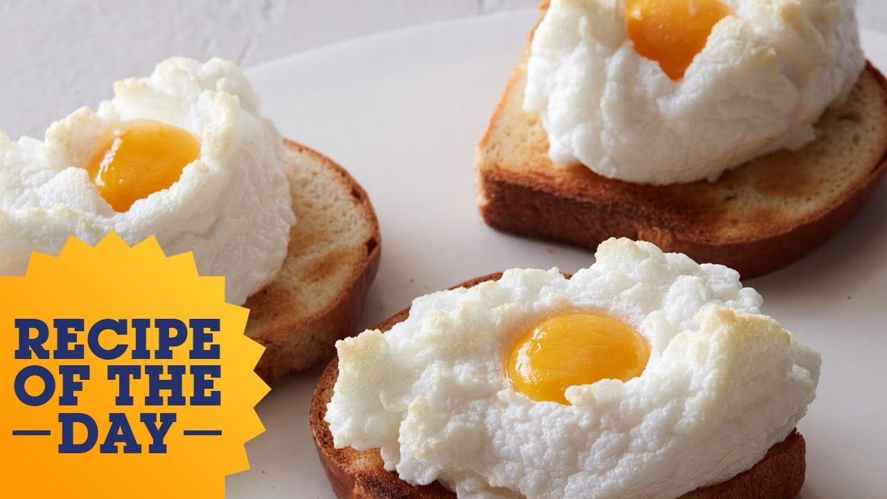 Recipe of the day cloud eggs food network youtube recipe of the day cloud eggs food network forumfinder Gallery