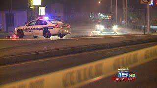 Crash on Lafayette Street