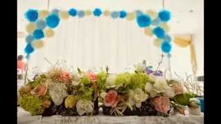 Школа декора. Украшение зала, свадебный декор, оформление свадьбы