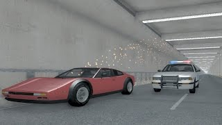 Endless Tunnel - BeamNG.drive