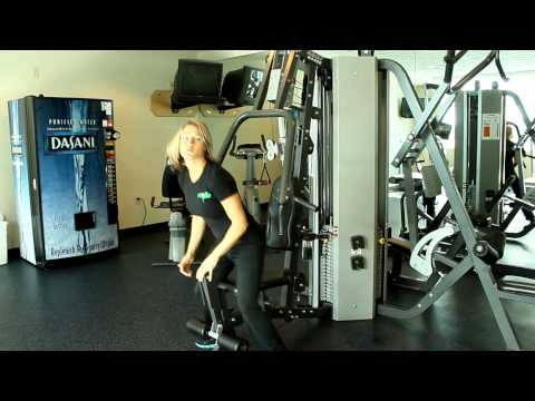 How To Use the Hoist H4400 Chest Press