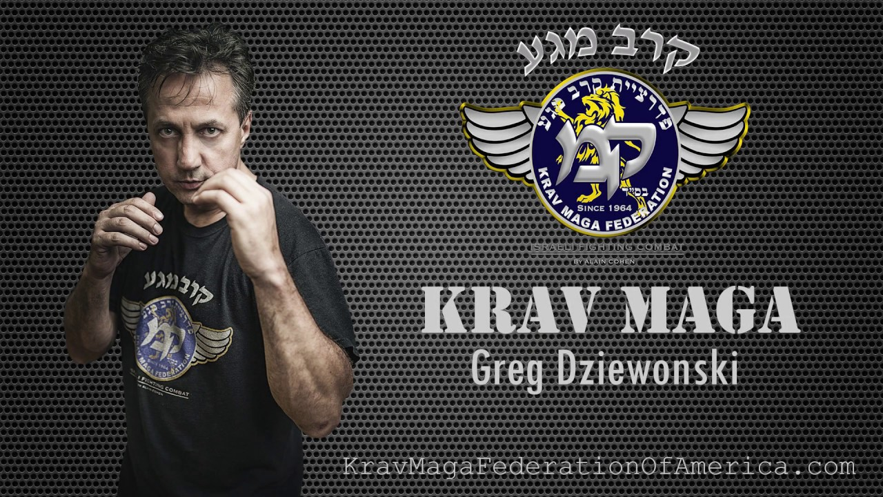 Connecticut Comprehensive Krav Maga Seminar with Greg Dziewonski