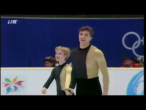 [HD] Berezhnaya & Sikharulidze - Barcelona - 1998 Nagano Olympics Exhibition - Бережная,Сихарулидзе