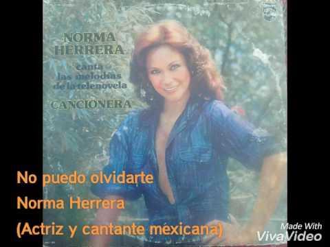 No puedo olvidarte Norma Herrera LP 1980