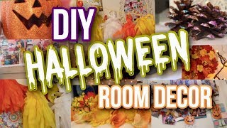 DIY Fall & Halloween Room Decor 2018! | Courtney Graben