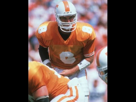 1991 Tennessee Andy Kelly passes the torch to Heath Shuler