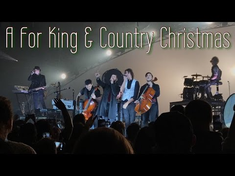 For King And Country Christmas.A For King Country Christmas 12 4 16